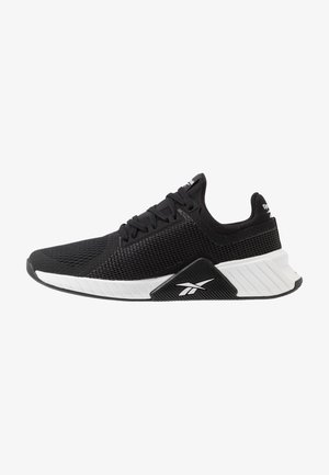FLASHFILM TRAIN - Sports shoes - black/white