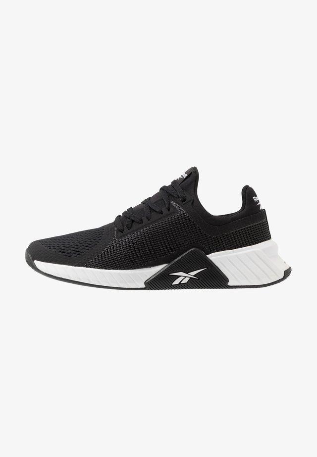 FLASHFILM TRAIN - Zapatillas de entrenamiento - black/white