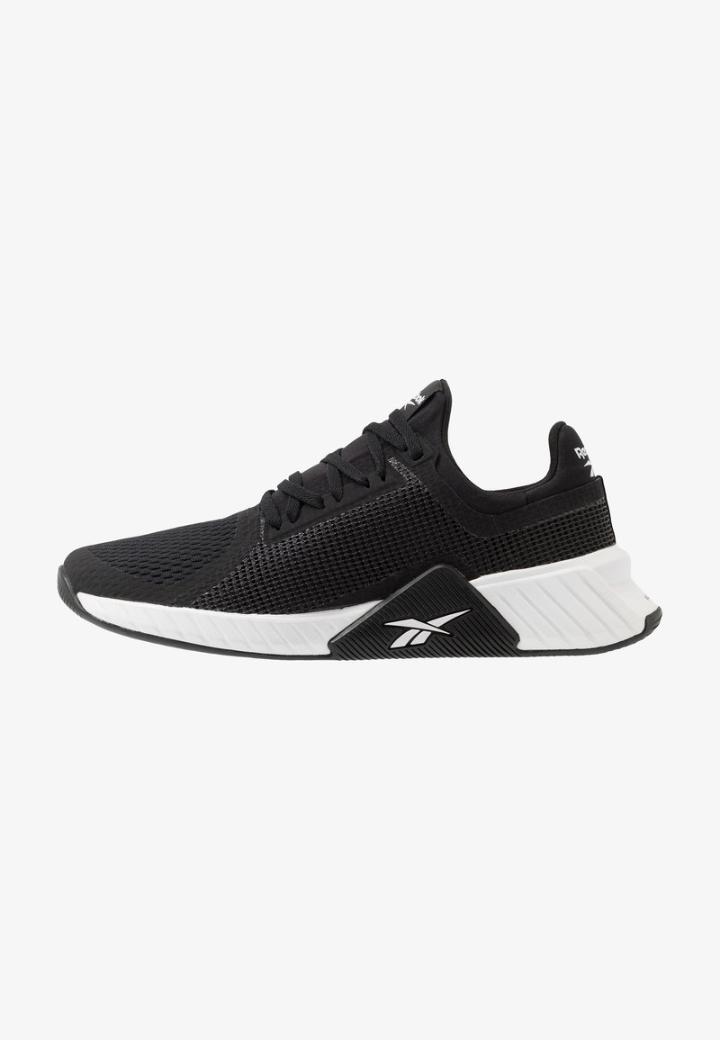 Reebok - FLASHFILM TRAIN - Sports shoes - black/white