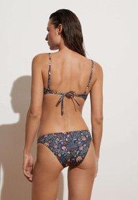 OYSHO - Bikini pezzo sopra - dark blue - 2