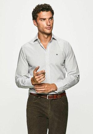 Camisa elegante - white/ blue