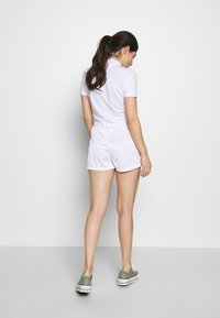 Fila Petite - TARIN HIGH WAIST PETITE - Shorts - bright white/black - 2