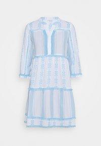 Rich & Royal - DRESS EMBROIDERED - Day dress - capri blue - 3