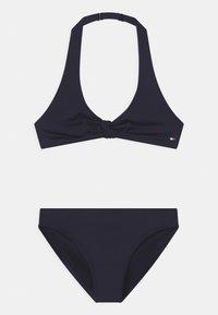 Tommy Hilfiger - TRIANGLE SET - Bikini - blue - 0