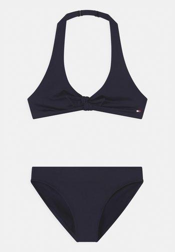 TRIANGLE SET - Bikini - blue