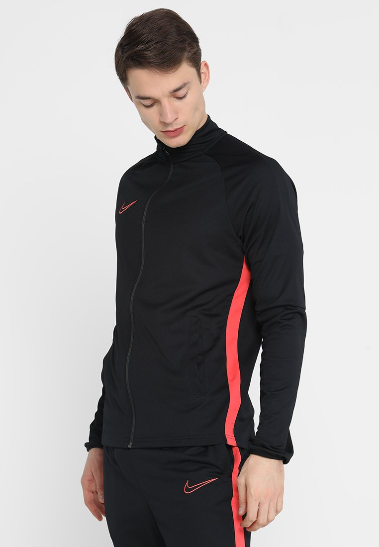 Nike Performance - DRY ACADEMY SUIT SET - Tracksuit - black/ember glow