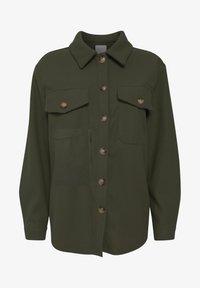 Fransa - FXTAHIR - Summer jacket - dark olive - 4