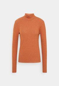 Vero Moda Tall - VMEFFIE HIGHNECK - Long sleeved top - auburn/melange - 0