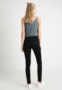 J.CREW TALL - TOOTHPICK - Jeans Skinny Fit - true black - 2