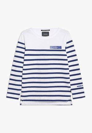 BRETON IN ENGINEERED - Langærmede T-shirts - white/blue