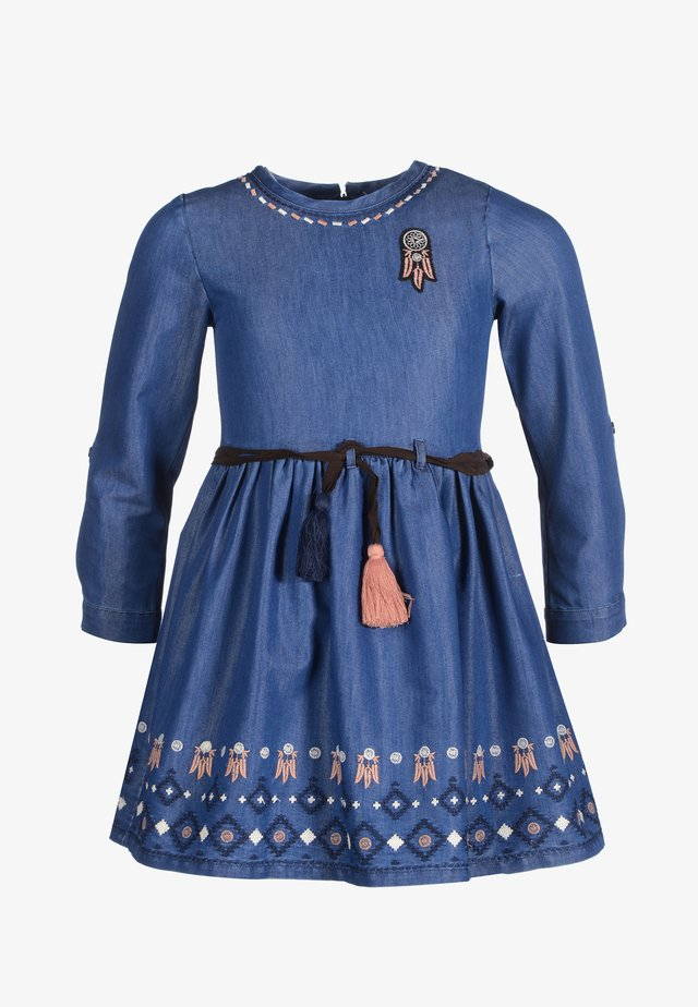 Korte jurk - jeans blue