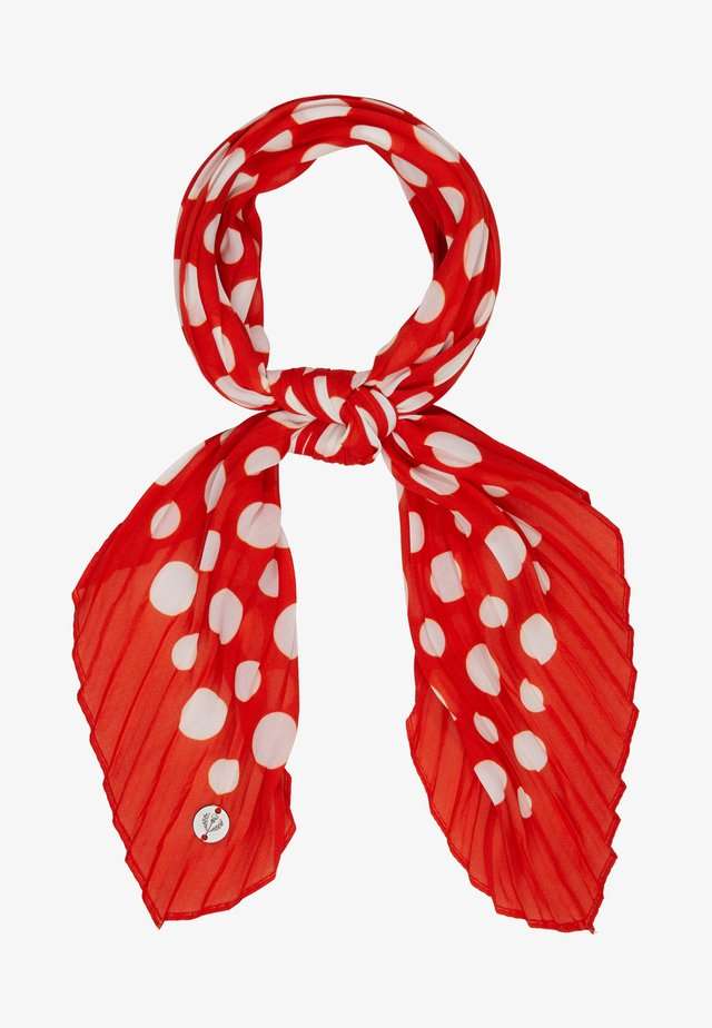 Foulard - classic red