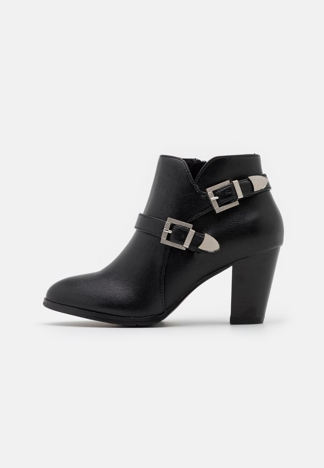 WIDE FIT WANTAGE - Ankle boots - black
