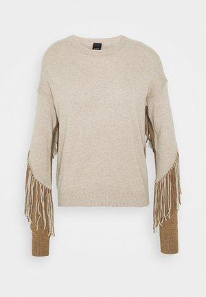 COPERTO  - Sweter - beige/cammello