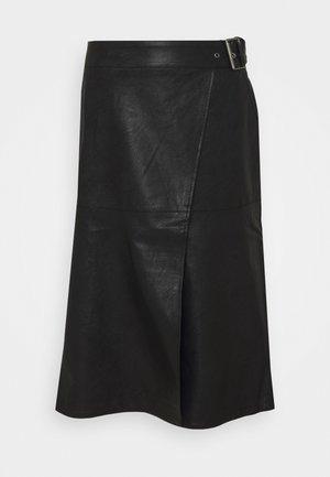 GWEN - A-lijn rok - black