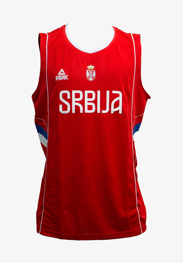 BASKETBALLTRIKOT SERBIEN 2016 IN SPORTLICHEM DESIGN - Print T-shirt - serbia red