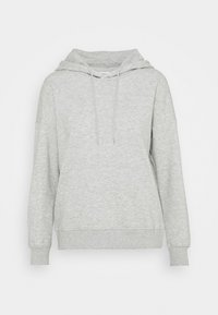 ONLY Petite - ONLFEEL LIFE HOOD  - Sweatshirt - light grey melange - 4