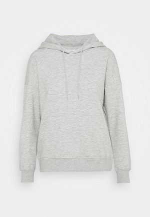 ONLFEEL LIFE HOOD  - Sweatshirt - light grey melange