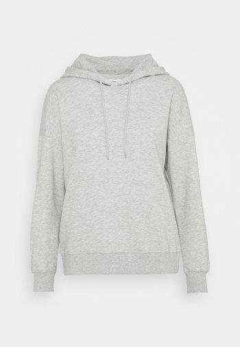 ONLFEEL LIFE HOOD  - Sweatshirt - light grey melange