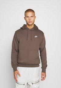Nike Sportswear - CLUB HOODIE - Felpa - ironstone - 0