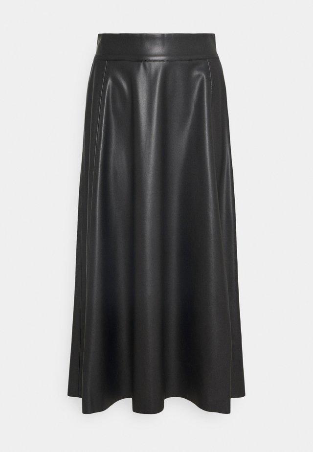 TALOR SKIRT - Áčková sukně - black