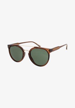 SOO-HIE - Zonnebril - brown/green