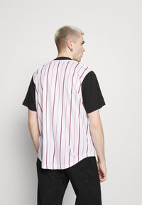 Karl Kani - VARSITY BLOCK BASEBALL - Shirt - black - 2
