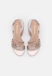 Tamaris - Sandals - rose metallic - 5