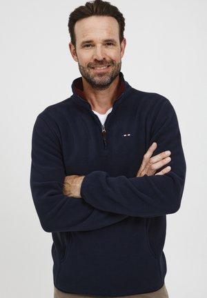 BRODER - Fleece trui - navy blazer