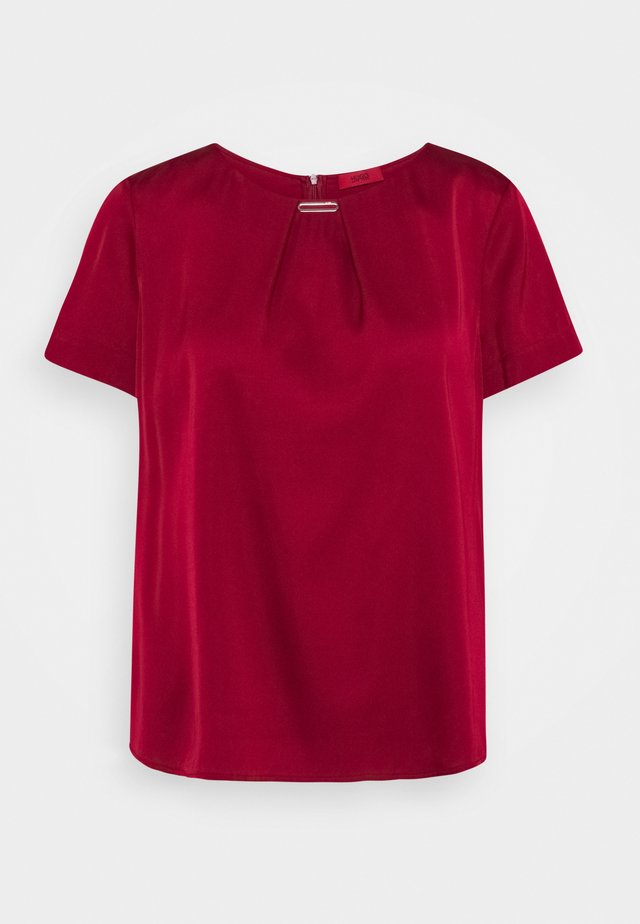 CELLIS - Blouse - open red