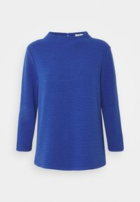 TOM TAILOR - STRUCTURE - Long sleeved top - deep ultramarine blue - 0