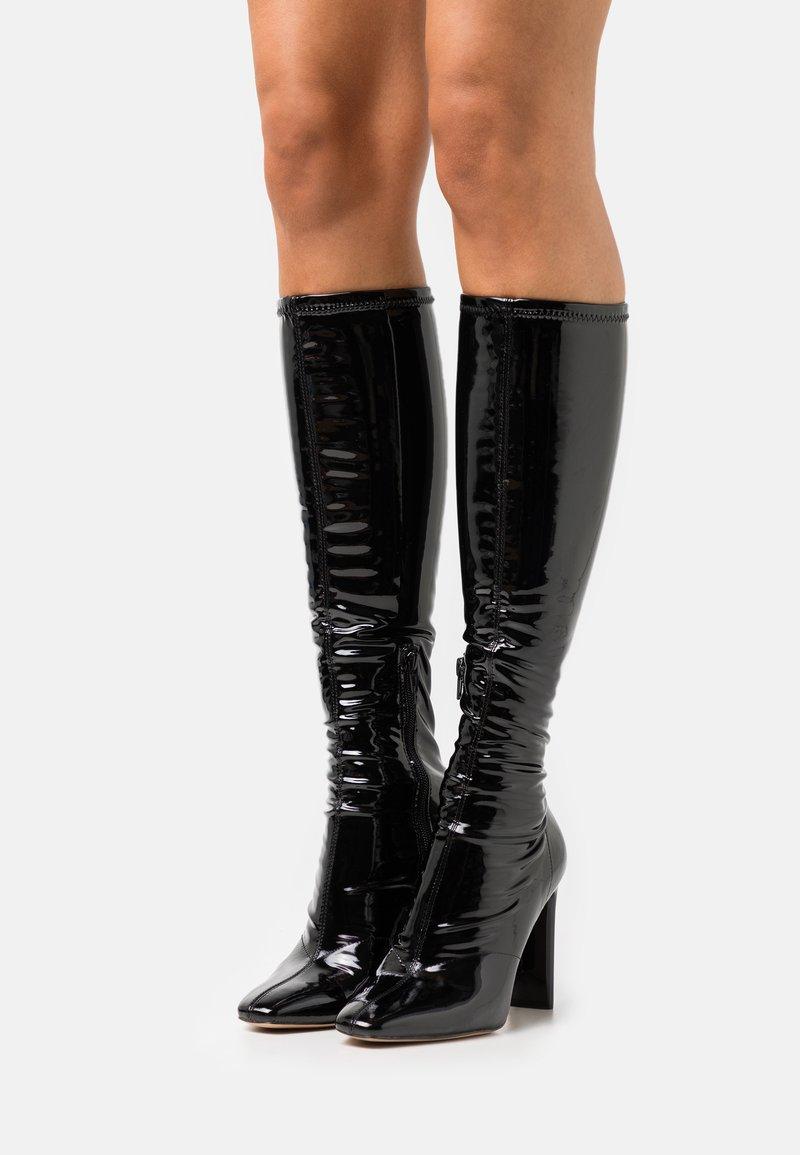 ALDO - EDIGORWEN - Bottes à talons hauts - black