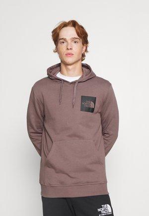 FINE HOODIE - Sweatshirt - graphite purple