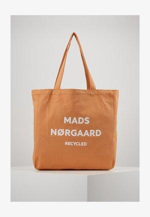 BOUTIQUE ATHENE - Shopping bag - apricot/white