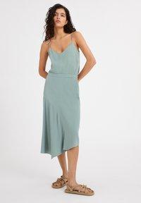 ARMEDANGELS - AASY - A-line skirt - eucalyptus green - 1