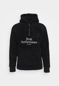 Peak Performance - ORIGINAL HOOD - Mikina skapucí - black - 4