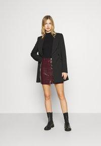 Glamorous - SKIRT - A-line skirt - burgundy - 1