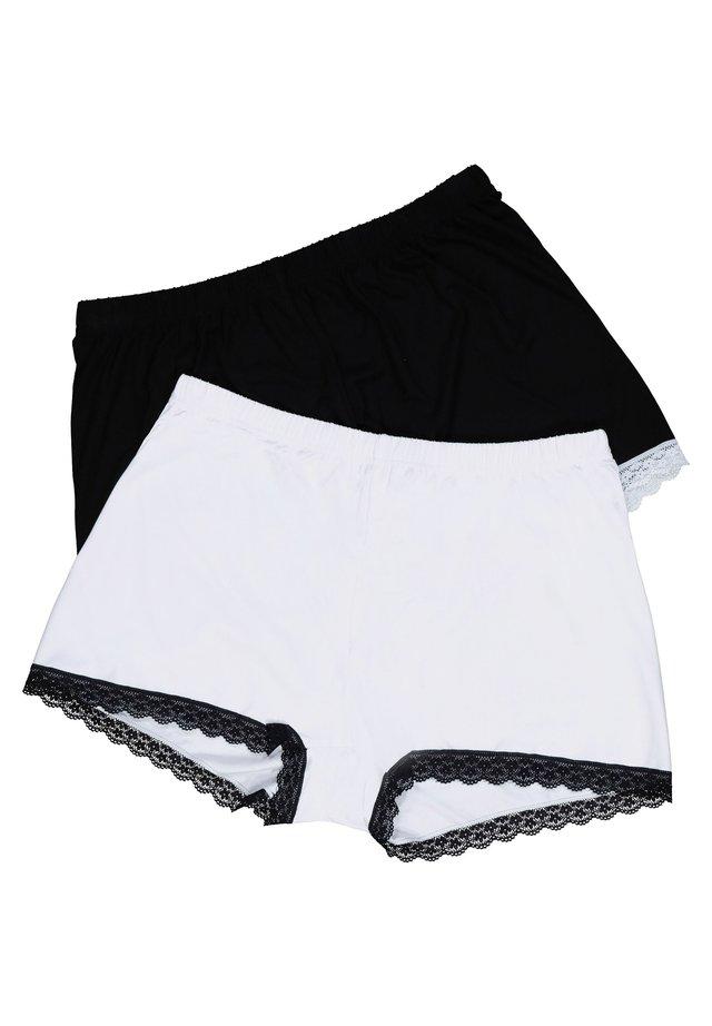 2 PACK - Onderbroeken - schwarz/weiß