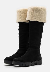 Tommy Jeans - WARM LINED LONG BOOT - Støvler - black - 2