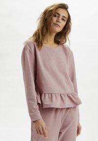 Cream - CRTALLI - Sweatshirt - woodrose melange - 3