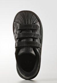 adidas Originals - SUPERSTAR CF  - Baby shoes - core black - 1