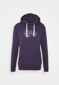 274 - APPLIQUE HOODIE - Sweater - purple - 4
