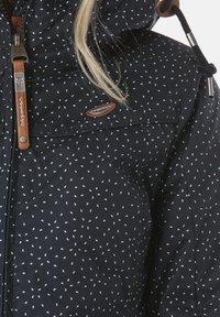 Ragwear - JOTTY DROP  - Waterproof jacket - blue - 4