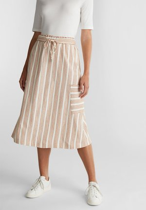 A-snit nederdel/ A-formede nederdele - rust brown