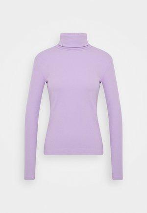 Topper langermet - lilac