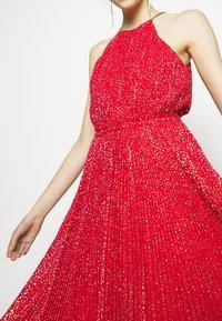 MICHAEL Michael Kors - PLEATD HALTR - Cocktail dress / Party dress - crimson - 5
