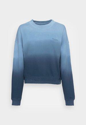 ROUND NECK MODERN COPPED FIT - Felpa - multi/blue shades