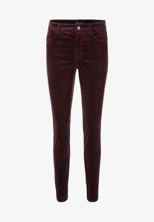 Slim fit jeans - aubergine