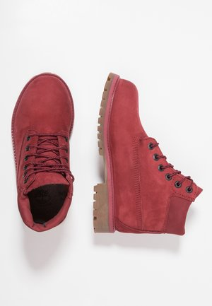 ICONIC - Lace-up ankle boots - dark red