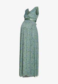 Anaya with love Maternity - SLEEVELESS V NECK MAXI DRESS - Společenské šaty - green - 3